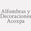 Alfombras y Decoraciones Acoxpa