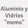 """Aluminio Y Vidrios """"memo"""""""