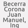 Becerra Corona Juan Manuel, Ing