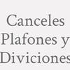 Canceles Plafones Y Diviciones