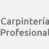 Carpintería Profesional