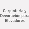 Carpintería y Decoración para Elevadores