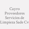 Cayro Proveedores Servicios de Limpieza SAde Cv