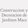 Construccion y Decoracion de Jardines Macs