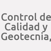 Control de Calidad y Geotecnia,