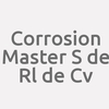 Corrosion Master S. De R.l. De C.v.