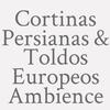 Cortinas  Persianas & Toldos Europeos Ambience