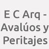 E. C. Arq. - Avalúos Y Peritajes
