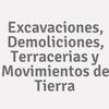 Excavaciones, Demoliciones, Terracerias y Movimientos de Tierra