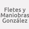 Fletes y Maniobras González