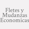Fletes y Mudanzas Economicas