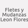 Fletes y Mudanzas Leon Flores
