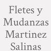 Fletes y Mudanzas Martinez Salinas