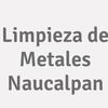 Limpieza de Metales Naucalpan