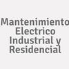 Mantenimiento Electrico Industrial Y Residencial
