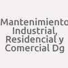 Mantenimiento Industrial, Residencial Y Comercial Dg