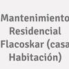 Mantenimiento Residencial Flacoskar (casa Habitación)