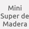 Mini Super de Madera