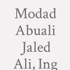Modad Abuali Jaled Ali, Ing