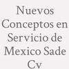 Nuevos Conceptos en Servicio de Mexico