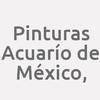 Pinturas Acuarío de México,