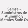 Samsa - Suministros de Aluminio y Metales SAde Cv