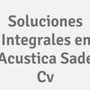 Soluciones Integrales en Acustica