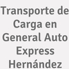 Transporte De Carga En General Auto Express Hernández