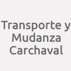 Transporte y Mudanza Carchaval