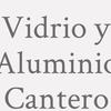 Vidrio Y Aluminio Cantero