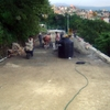 Obras de drenaje y pavimentación  en calle