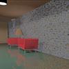 Remodelacion de la sala de espera de la recepción del edificio