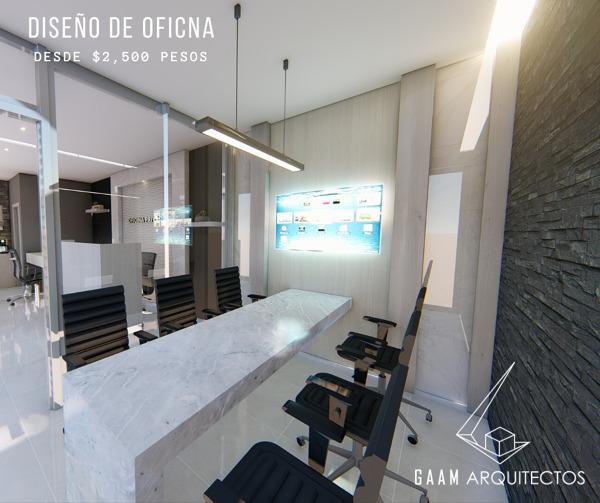 Diseño de Oficinas desde $2,500.00 pesos