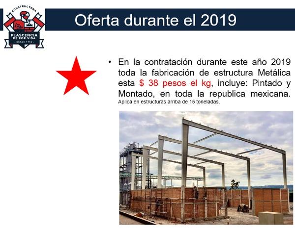 Oferta Estructura Metalica