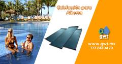 Calefacción solar para Alberca