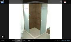 Cancel de baño en cristal templado