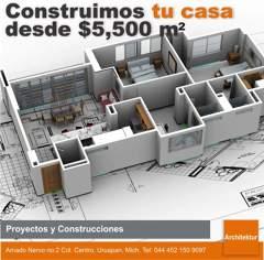 Construimos tu casa desde $5,500/m2