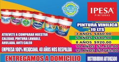 IPESA Pinturas Pintura ahulada , lavable antibacterial , antihongos
