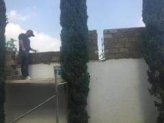 Levantamiento de muro perimetral