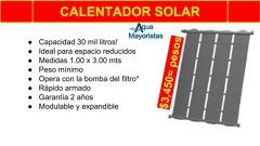 PANEL DE SOLAR AQUEX PARA ALBERCA