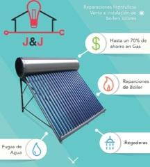 Venta e instalación de Boiler Solar