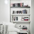 Librero con repisas