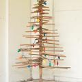 árbol de navidad con palés simples