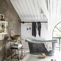Baño clásico con tina exenta
