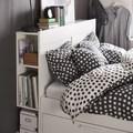 Cabecera de cama con espacio de almacenaje