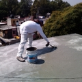 capa final de cemento con resina acrilica