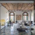 Sala con estilo ecléctico