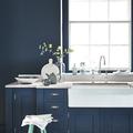 cocina azul