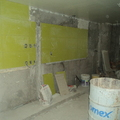 Colocación de azulejo en area de coccina