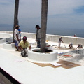 Detalle De Trabajo De Azulejo 2 X 2 Cm
